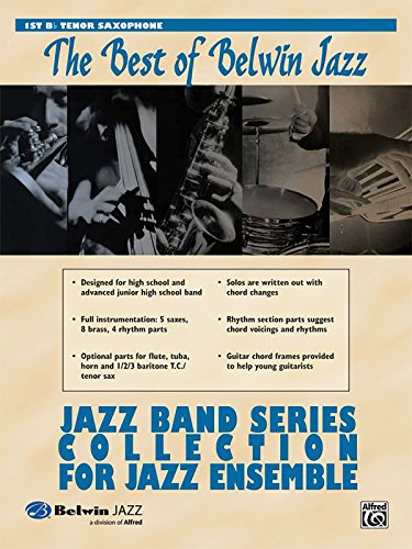 Jazz Band Collection for Jazz Ensemble: 1st Tenor Saxophone (Sheet Music Alfred Tenor)