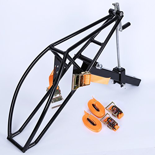 Purchase New Motorcycle Receiver Hitch Hauler Trailer Tow Dolly Rack carrier Motorcycle Trailer Hitc...