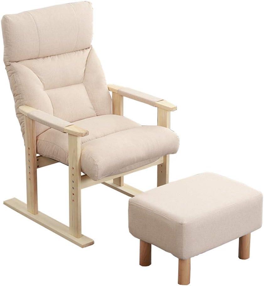 Amazon.com: Sillones reclinables de madera maciza para la ...