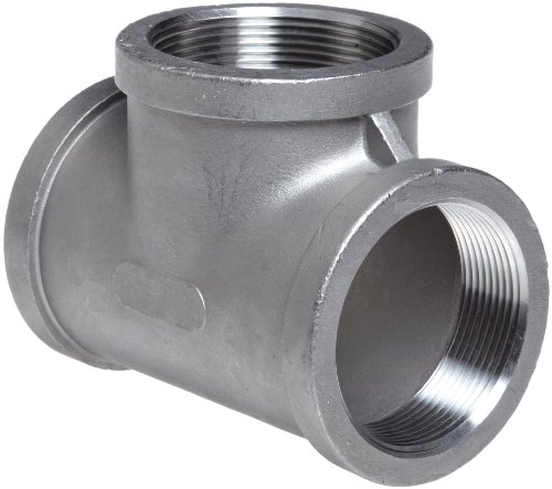 [Stainless Steel 304 Cast Pipe Fitting, Tee, MSS SP-114, 1