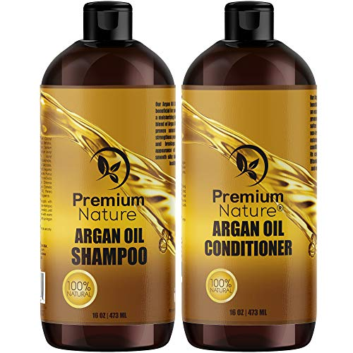 Argan Oil Shampoo and Conditioner Set - Sulfate Free, used for sale  Delivered anywhere in Canada
