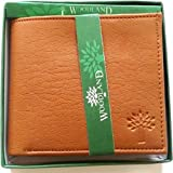 Om International Tan Men's Wallet