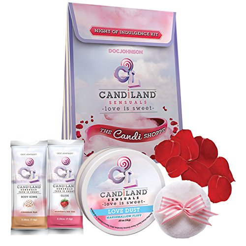 Edible Body Dust (Doc Johnson Candiland Sensuals Night of Indulgence Kit)
