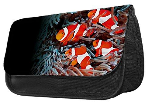Clown Fisch Bleistift Fall/Make-up Tasche 090