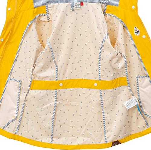 Para Abrigo Ragwear Mujer Impermeable Gelb019 PqfKgw4