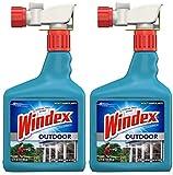 Windex VDLDGJAS Outdoor Glass & Patio Cleaner, 2 Pack of 32 oz