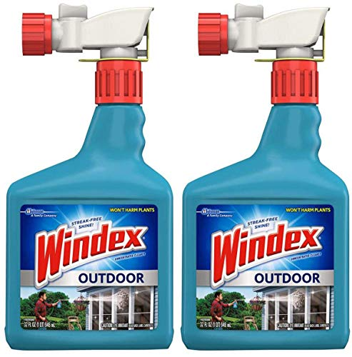 Windex VDLDGJAS Outdoor Glass & Patio Cleaner, 2 Pack of 32 oz by Windex (Image #3)