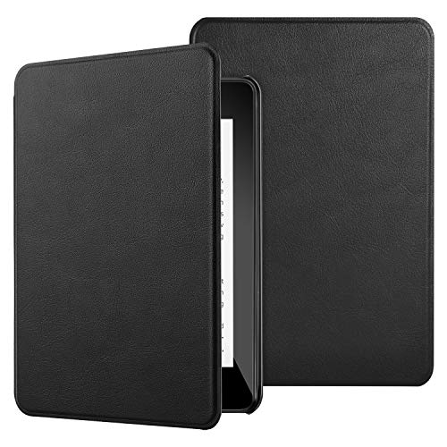 IVSO Case Cover for Kindle Paperwhite 2018, Ultra Lightweight Protective Slim Smart Cover Case for All-New Kindle Paperwhite 10th Generation - 2018 Release (Black)