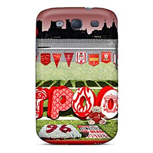 KudIZhC7251EBxmw Case Cover Famous Fc Of England Liverpool Galaxy S3 Protective Case
