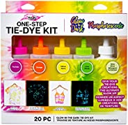 Tulip One-Step Tie-Dye Kit Easy Techniques for Fun Fabric Designs, Glow & Neon Dye Colors DIY Activity &am