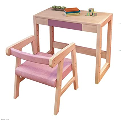 Groovy Amazon Com Nan Liang Childrens Study Table Set Can Be Machost Co Dining Chair Design Ideas Machostcouk