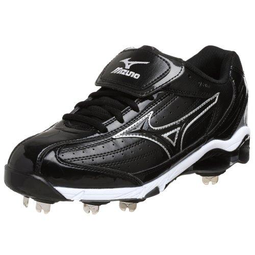 - Mizuno Men's 9 Spike Classic G5 Low Baseball Cleat,Black,7 M