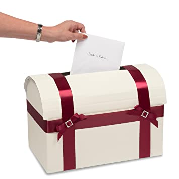 Flairelle Briefbox Kartenbox Grosse Geschenk Truhe In Creme Edle