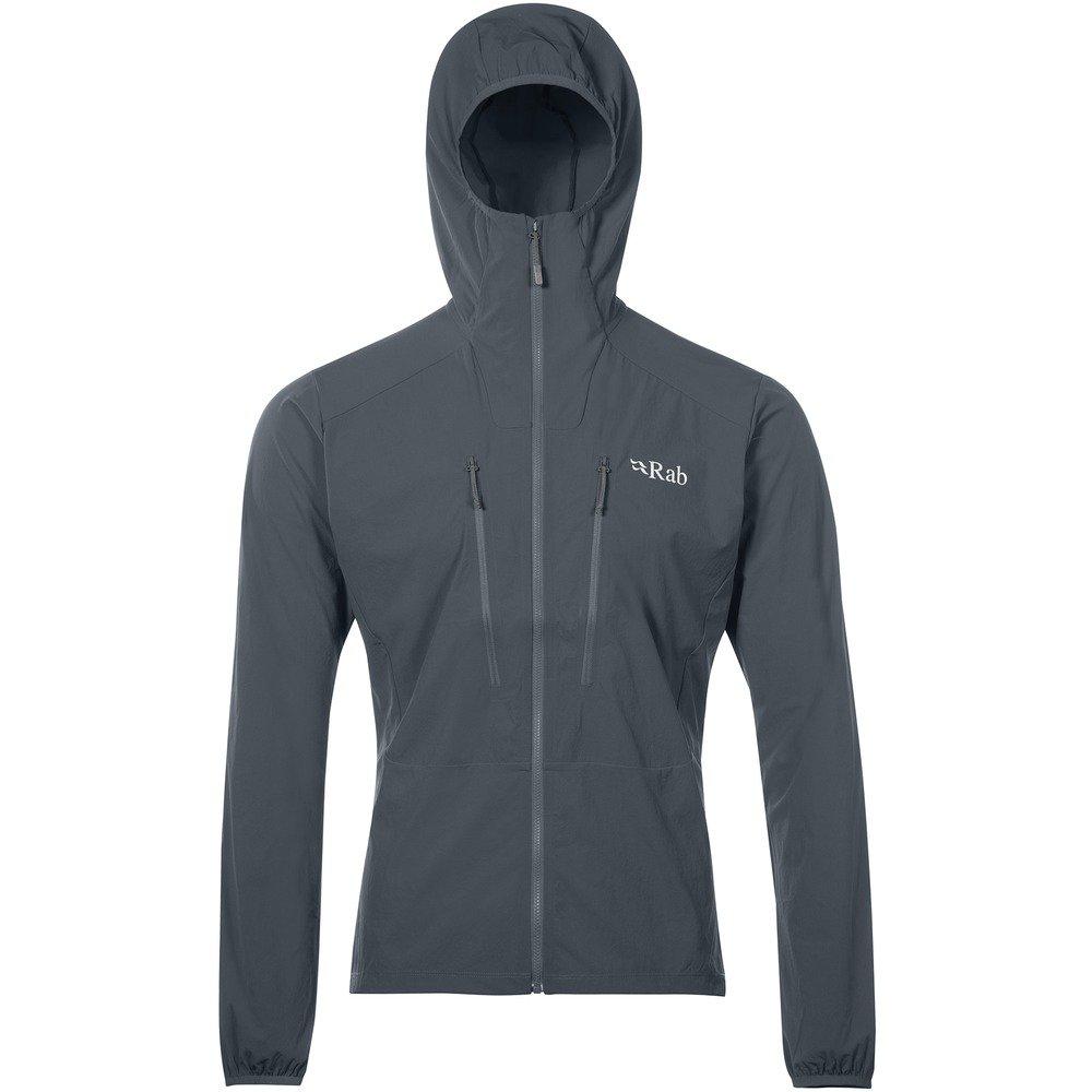 Rab Borealis Jacket – Men 's B079BZHT2N Medium|スチール スチール Medium