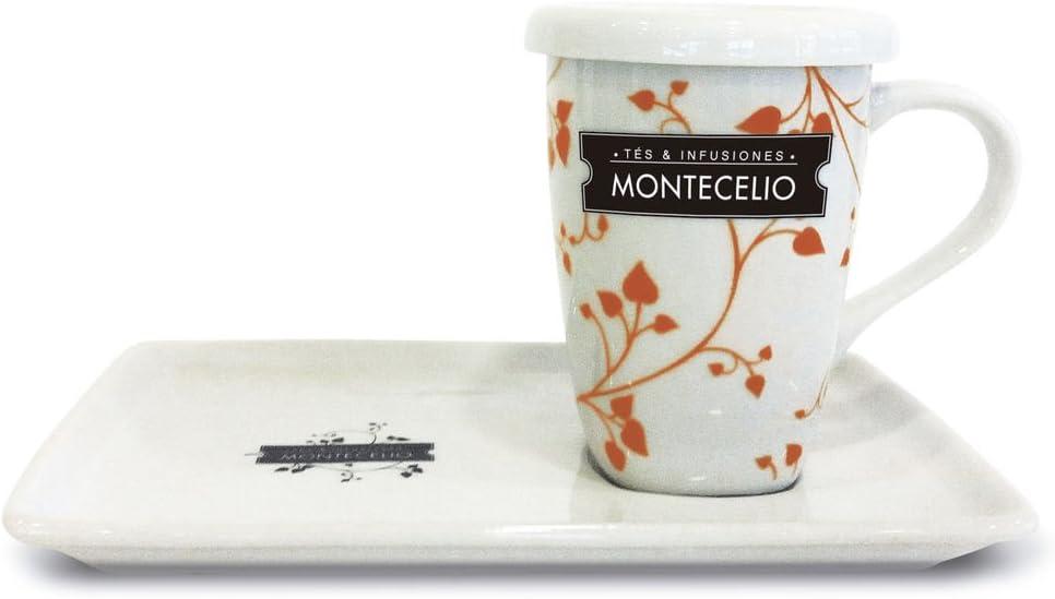 Montecelio - Vajilla infusiones - Pack de 6 Unidades de Diferentes ...