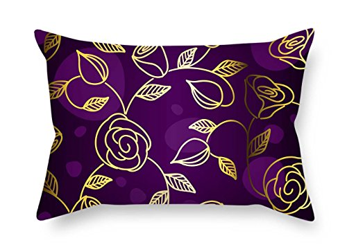 Pillowcover Of Flower For Christmas Bench Divan Monther Club Deck Chair 20 X 26 Inches / 50 By 65 Cm(both (Art Deco Club Chair)