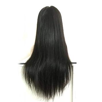 44c58cf476c Forawme Remy Brazilian Straight Long Full Lace Wigs Website For Women 130%  Density 1B 30 Inch...
