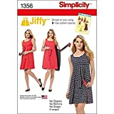Simplicity 1356 Easy to Sew Women's Reversible Wrap