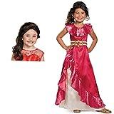 Elena of Avalor Adventure Dress Child Costume Bundle Set - Small