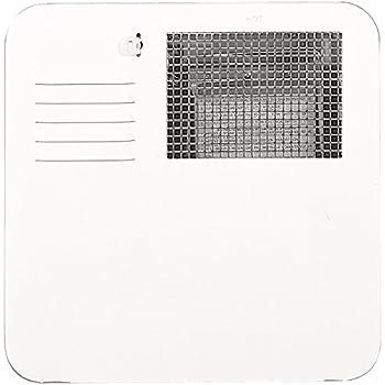 Suburban 6261APW Polar White Water Heater Door