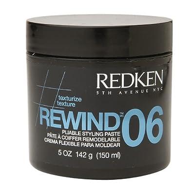 Redken Rewind 06 Pliable Styling Paste, 06 - Medium Control 5 oz (142 g)