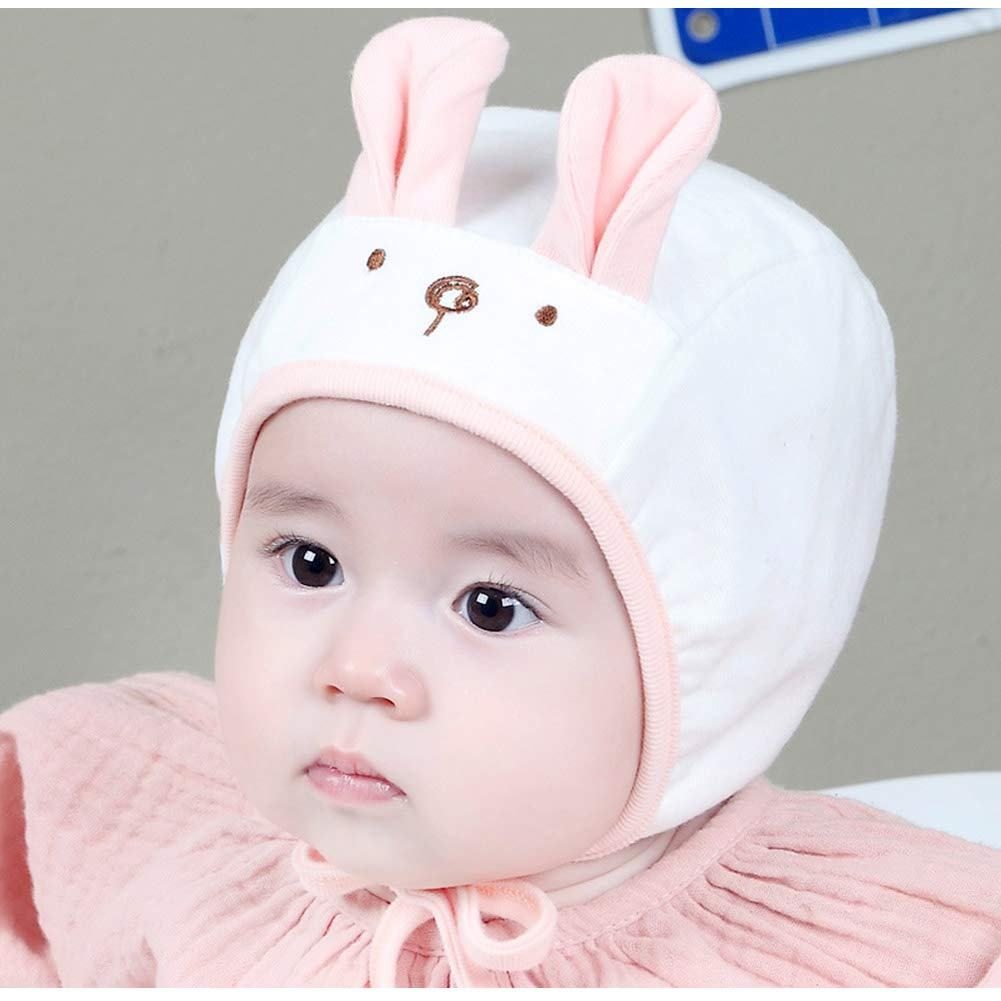 IMLECK Baby Cute Soft 100/% Combed Cotton Hat Toddler Infant Beanie Pilot Caps