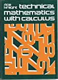 Technical Mathematics with Calculus 9780070522053