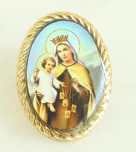 Our Lady of Mount Carmel Lapel Pin