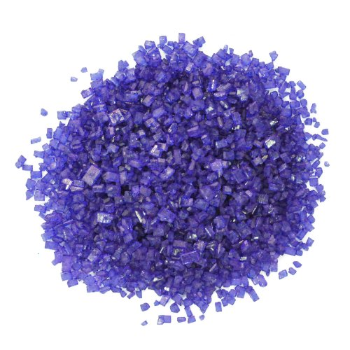 Dress My Cupcake DMC27071 Decorating Colored Sugar Crystals for Cakes, 4-Ounce, Violet Purple