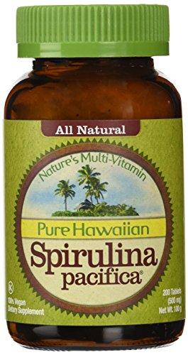 Nutrex Hawaii Hawaiian Spirulina Pacifica 500 mgs., 200-tablet Bottle