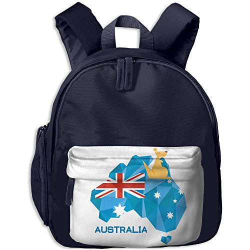 Shoulder Daypack Kid Lunch Tote Bags Stralia Flag Map Australia National Pride Girl Class Gift Cool JOYLIAN
