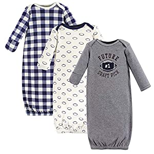 Best Epic Trends 51xZtzns4zL._SS300_ Hudson Baby Unisex Cotton Gowns