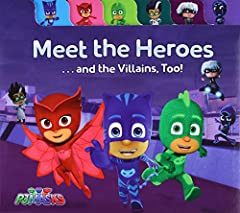 Learn all about your favorite heroes and baddies in this sweet tabbed board book based on PJ Masks, the hit preschool series airing on Disney Junior!Are you ready to meet the PJ Masks? Now you can learn all about Catboy, Owlette, and Gekko as...