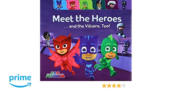 Meet the Heroes . . . and the Villains, Too! Pj Masks: Amazon.es: Maggie Testa, Style Guide: Libros en idiomas extranjeros