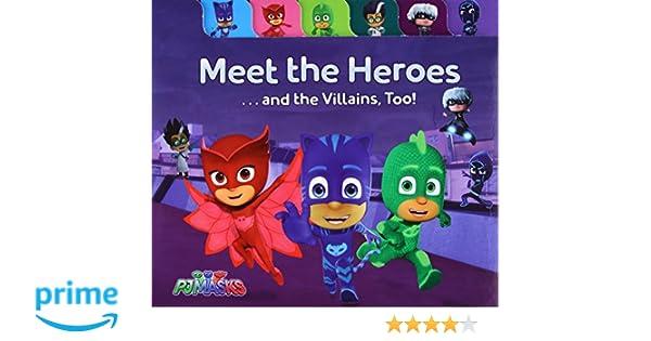 Meet the Heroes . . . and the Villains, Too! Pj Masks: Amazon.es: Maggie Testa, Style Guide: Libros en idiomas extranjeros