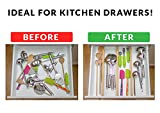 Drawer Dividers Bamboo Kitchen Organizers Set of