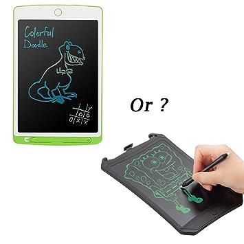 Parallel Halo Tableta de Escritura LCD DE 10 Pulgadas -Pizarras Mágicas Tablero de Dibujo Infantil- Juguetes Educativos para Niños …
