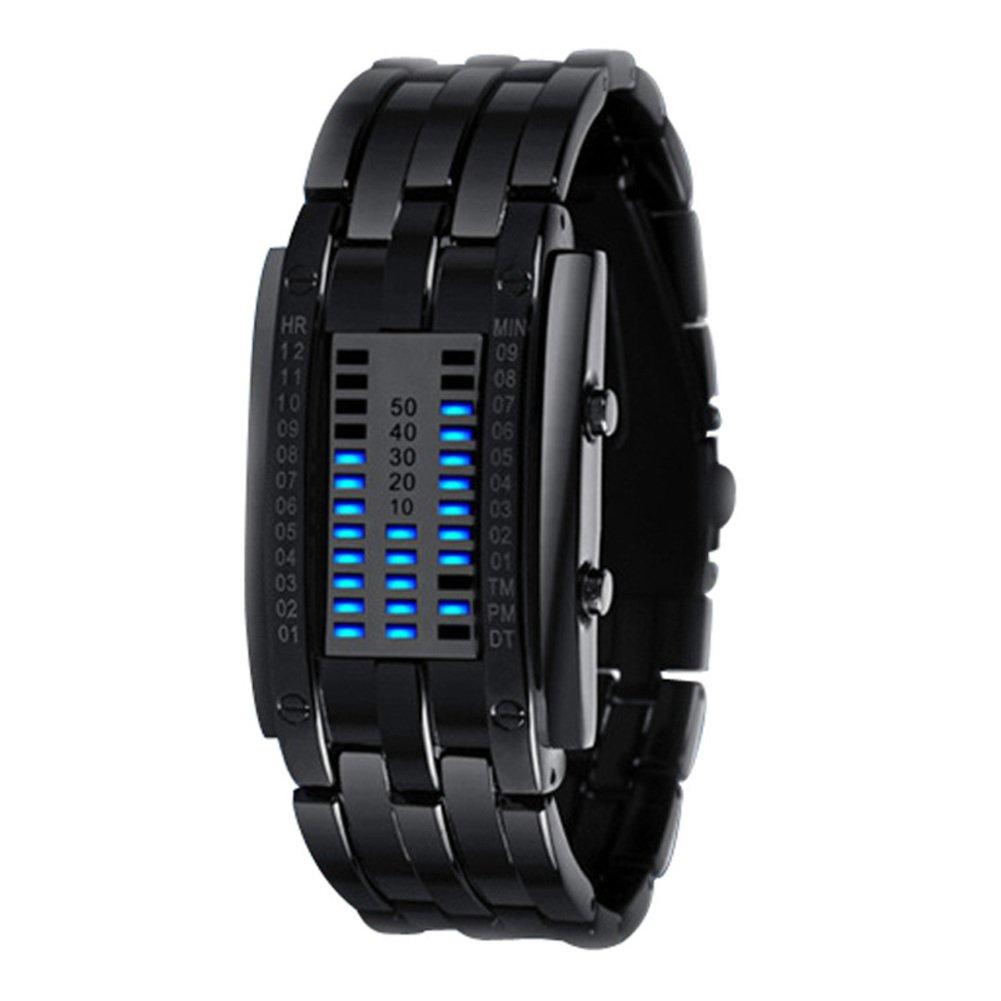 メンズall-metallic Watch / Atmosphericメンズ時計/ LEDCool watches-b B01E8N842A