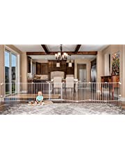 Regalo 4-in-1 Super Wide 16 foot Metal Safety Gate and Play Yard