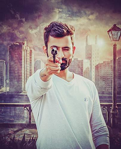Photography Poster - Gun, Gunpoint, Shoot, Fighter, 24