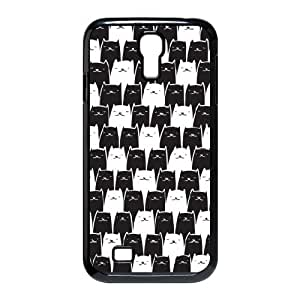 Black and White Cats Samsung Galaxy S4 Case, [Black]