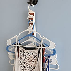 Trenton Gifts Cedar Space Saving Hangers - Set of 5