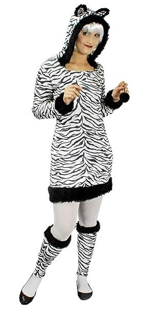 Körner Festartikel Zebra Kostüm Für Damen Gr 32 34