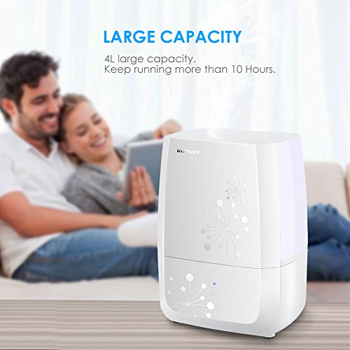 URPOWER-Humidifiers-4L-Whisper-quiet-Operation-Ultrasonic-Cool-Mist-Humidifier-Waterless-Auto-Shut-off-Air-Humidifier-with-Adjustable-Mist-Mode-Sleep-Mode-Humidifiers-for-Bedroom-Babyroom-Office
