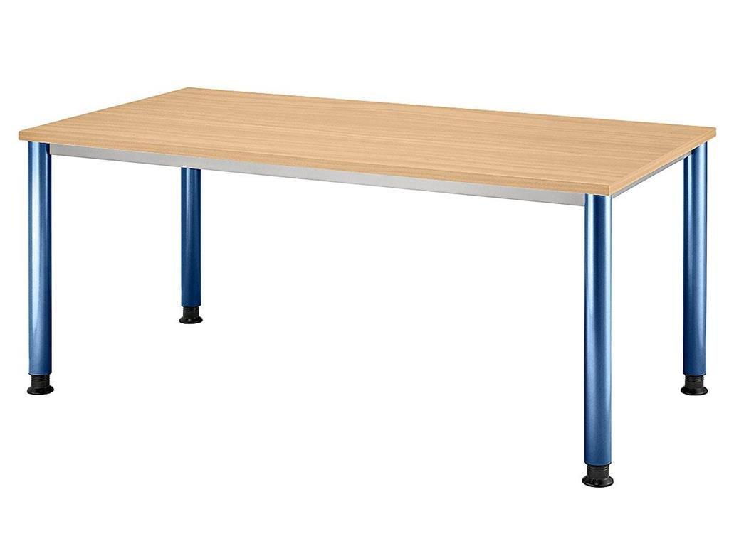 Mesa de escritorio H-serie - 160 x 80 x 68 - 76 cm enlazable | De ...