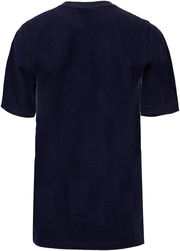 Fila Eagle - Maglietta da donna Grigio Chiaro Marl / Peacoat / Rosso Cinese