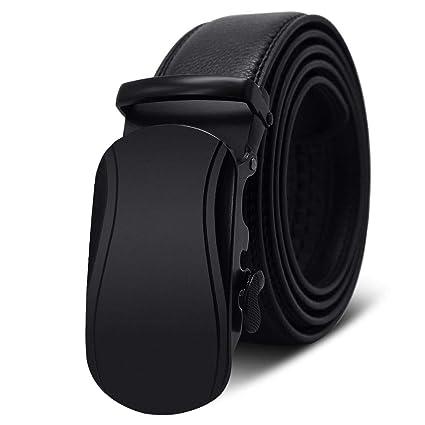 nuevo estilo ab7a1 004d9 LLLM Cinturones Cinturones De Caballero para Hombre Hebilla ...