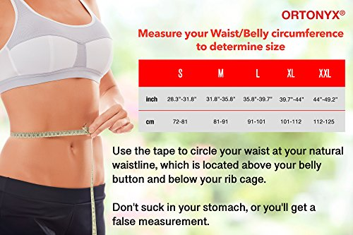 ORTONYX Posture Corrector Back Brace, Clavicle and Shoulders Support, Cool Breathable Materials/M by ORTONYX (Image #3)