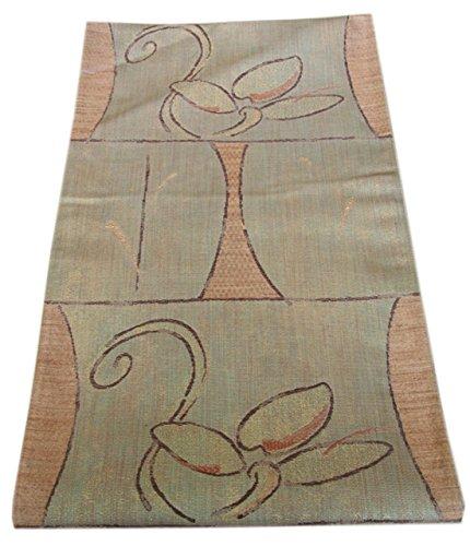 博多着物市場 きものしらゆり 単衣 玉蟲 紬地 袋帯 仕立て上がり 正絹