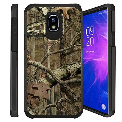 Untouchble | Camo Case for Samsung Galaxy J7 Aero, J7 Crown, J7 Aura, J7 Refine, J7 Eon, J7 2018 Camo Case [Shock Bumper] Hybrid Shell, Hard Plastic, TPU Skin - Hunting Tree Camo
